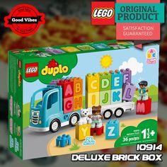 LEGO 10915 Alphabet Truck DUPLO Mainan Huruf Edukasi Anak Original #thekingbricks #theking #thekingid #kingbricks #gvonline #uhappyihappy #tokolegoterpercaya #tokomainanoriginal #lego10915 Lego Duplo Sets, Lego Ninjago, Building Toys For Toddlers, Learning Toys For Toddlers, Alphabet For Kids, Learning The Alphabet, Lego Disney, Lego Friends, Legos