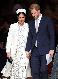 Meghan Duchess of Sussex and Prince Harry Duke of Sussex attend the Commonwealth Day Service at Westminster Abbey on March 11 2019 in London England Meghan Markle News, Meghan Markle Photos, Meghan Markle Prince Harry, Prince Harry And Meghan, Duchess Of Cornwall, Duchess Of Cambridge, Prince Harry Instagram, Hillary Clinton Campaign, Prince William And Kate