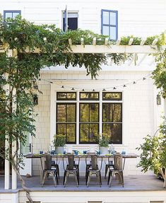 Beat the heat this summer while enhancing the appearance of your outdoor space with the addition of a stunning pergola.