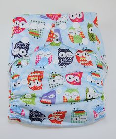This MG Baby Mr. Owl Pocket Diaper by MG Baby is perfect! #zulilyfinds