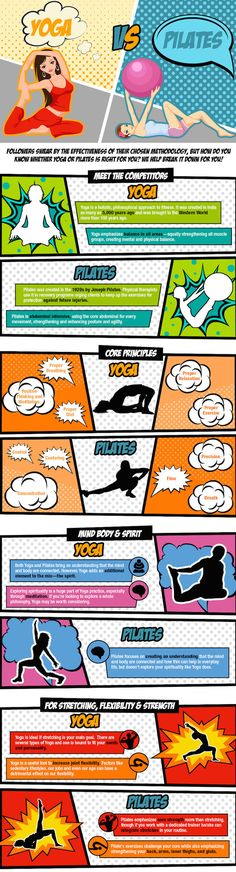 Yoga Or Pilates: Which Is Right For You? (Infographic)