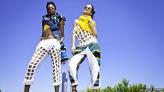 ethiopian fashion / Mahlet Afework's Mafi label specialises in modern designs from traditional materials