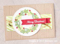 Stampin' Up! Merry Patterns Host Stamp Set samples hared by Dawn Olchefske #dostamping #stampinup #handmade #cardmaking #stamping #diy #merrypatterns #christmascards