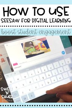 Seesaw is one of my favorite FREE digital platforms! Learn more about how I use this simple, user-friendly digital platform to teach my virtual elementary students. I will walk you through a quick and easy Seesaw set up, along with sharing some helpful tips, tricks, and ideas on how to best use Seesaw this school year!