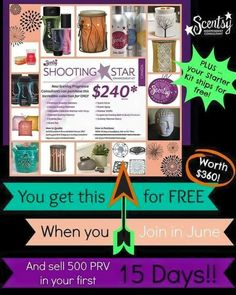 Join me today!    https://amandarusso.scentsy.us