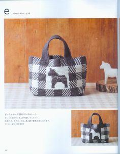 Japanese book and handicrafts - Aran amikomi lovely crochet bags Crochet Clutch, Crochet Purses, Crochet Bags, Tapestry Bag, Tapestry Crochet, Japanese Books, Crochet Magazine, Knitted Bags, Love Crochet