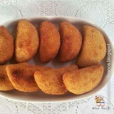 Semelhante à nossa coxinha o rissole é um empanado com massa cozida e recheios variados, carne, cama... - Thinkstock.com