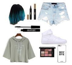 Fierce Look//Out with friends 💙🐨🌚🌫💎 by supaaaawomen on Polyvore featuring polyvore, fashion, style, Alexander Wang, NIKE, Lord & Berry, Yves Saint Laurent and clothing