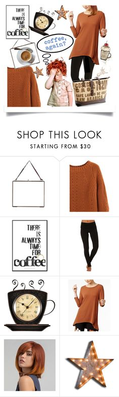 """""""coffee again"""" by princessbollywood ❤ liked on Polyvore featuring NKUKU, Electric Yoga, Alfani and Vintage Marquee Lights"""