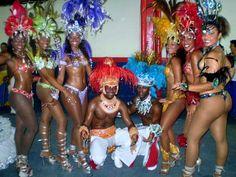 dancing on brazil carnival