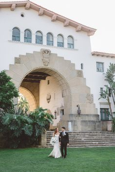 Santa Barbara Courthouse wedding inspiration