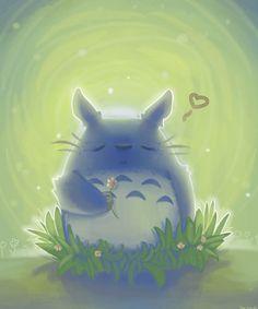 Totoro by tea-hee.deviantart.com on @DeviantArt