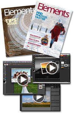 Free Download Photoshop here! I stopped looking for ways to learn Photoshop Elements when I discovered Adobe Photoshop Elements Techniques. No, I don't work for them. Rather, this works for me. Not only do I get a hard copy magazine every 2 months, but also online videos and handouts. I use PSE 8.