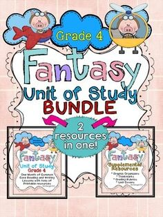This bundle combines two of my resources to save you money.  It includes everything you need to teach a month-long unit of study for fantasy in both the reading and writing workshops!    Here are just some of the items included in this resource:  1. 20 reading mini lessons all linked to the Common Core, with detailed descriptions and chart examples.  2. 20 printable graphic organizers designed specifically for each reading lesson.  3. 20 printable thinkmark graphic organizers for each ...