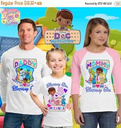 15% Off Doc Mcstuffins shirt/Doc mcstuffins birthday shirt/