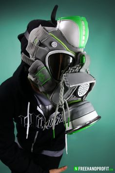 "freehand profit turns rare and retro sneakers into gas masks New mask! Nike Zoom Lebron IV ""Dunkman"" Gas Mask by Freehand Profit 