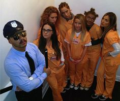 Julianne Hough bad Halloween call with 'Orange Is the New Black' costume