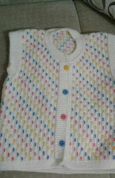 This Pin Was Discovered By Neriman Tekin - maallure Baby Knitting Patterns, Baby Sweater Patterns, Baby Sweater Knitting Pattern, Knit Baby Sweaters, Baby Patterns, Knit Baby Dress, Baby Cardigan, Baby Outfits, Kids Outfits