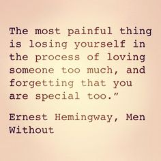 {Ernest Hemingway, one of the very few things he wrote that I can actually stand