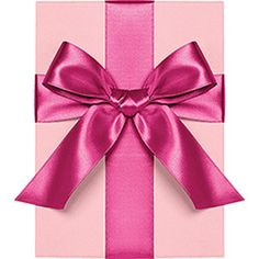 Fuchsia Satin Ribbon
