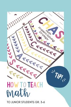 How to teach Math to junior students, grade 3-6. Inquiry Based Learning, Teaching Math, Number Sense, Grade 3, Problem Solving, Students, Teacher, Classroom, Class Room