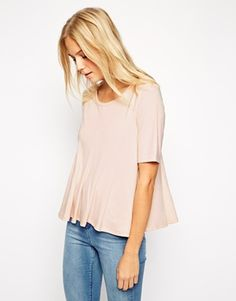 ASOS Top with Pleat Detail