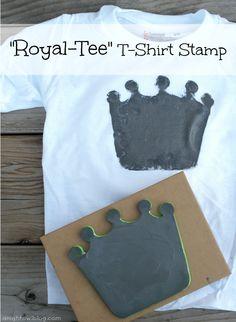Royal Tee T Shirt Stamp on { lilluna.com }