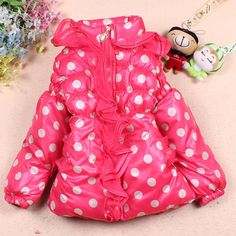 Aliexpress.com : Buy Sunlun Free Shipping children's winter jackets Dot Cotton Thickening Coat, Lace Girl's winter jacket SCG 3046 from Reliable girls clothes suppliers on Sunlun Wholesale And Retail Center $17.87