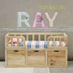 Cama infantil http://www.mamidecora.com/muebles-para-bebes-ni%C3%B1os-xo-in%20my%20room.html