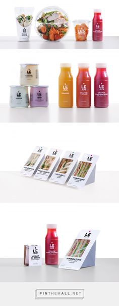 Monoprix Food To Go - Packaging of the World - Creative Package Design Gallery - http://www.packagingoftheworld.com/2017/09/monoprix-food-to-go.html