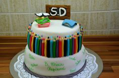 School cake 📝🍴