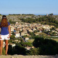 Choubaka sur la colline Saint-Martin de Roquefort-des-Corbières