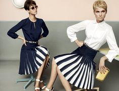 Toni Garrn, Kendra Spears and Juju Ivanyuk Are Retro Chic for Max Mara Studio Spring 2013 Campaign - Fashion Gone Rogue: The Latest in Editorials and Campaigns