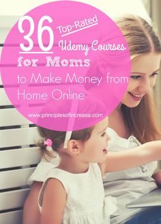 There are so many and too many ways to make money from home these days. From eBooks to voiceover acting and virtual assisting- you've gotta fit in somewhere. The good news? I've compiled a list of jobs, skill sets and business ideas & related courses on Udemy.com to help my fellow SAHMs/WAHMs make money while preserving that precious work-life balance! Enjoy!