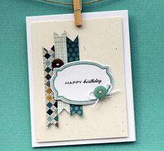Happy Birthday Day  handmade card by nkatdesigns on Etsy
