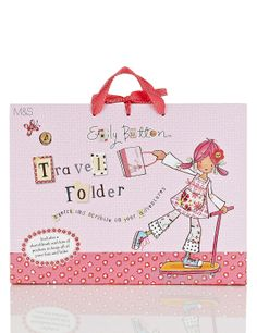 Includes a sketchbook, holiday journal and pockets for pens, stickers and all your bits & bobs. Scribble, Buttons, Holiday, Travel, Journal, Pockets, Stickers, Baby, Products