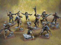 Human Warband for Mordheim