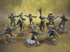 Human Warband for Mordheim