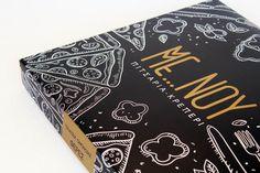 #menou #pizza #crepe #black #gold #matte #redesign #packaging #packaginglove #oghpack #drama #greece