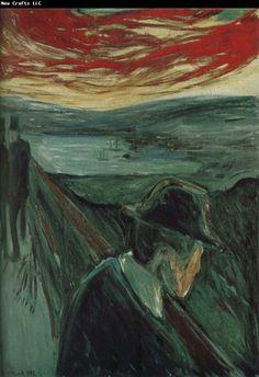 Edvard Munch , Despair