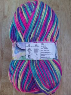 100g Robin Paintbox DK knitting yarn 189 Carnival £2.95