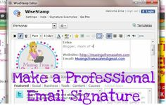 Tutorial: How to Make a Professional-Looking Email Signature