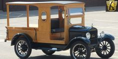 For sale in our Detroit, Michigan showroom is a Hunter Green/Ash Wood Truck 1926 Ford Model T 4 Cylinder 2 Speed Automatic. Click for more details.