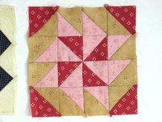 Blok 13 1865 passion sampler quilt