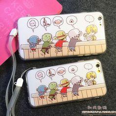 Cartoon Cute One Piece Funny Soft Bumper Case Cover for iPhone 6 6PLUS 6S 6SPLUS   eBay