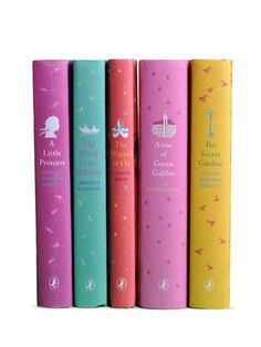 Girl's Puffin Book Set (Set of 5)