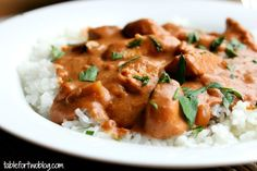 Chicken Tikka Masala Crockpot recipe - Finally an Indian to add to my crockpot repetoire. I will post results and any alterations I made one it's in the pot :)