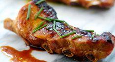 Travers de porc laqués à la chinoise
