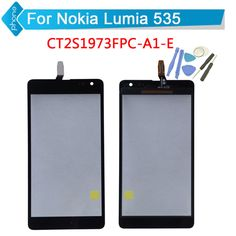 CT2S1973FPC-A1-E / CT2C1607FPC-A1-E Version for Microsoft Nokia Lumia 535 N535 Touch Screen Digitizer Glass +Tools #clothing,#shoes,#jewelry,#women,#men,#hats,#watches,#belts,#fashion,#style