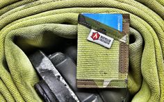 You'd probably never picture yourself carrying firehose around, but Jake Starr (the Recycled Firefighter himself and an active member of our community) could change your mind with the Sergeant Wallet.It's constructed from decommissioned firehose fabric that's repurposed into a durable, slim, and comfortable front pocket wallet. The Sergeant features a single pocket for 4-8 of your cards, cut at an angle for easy pinch or slide retrieval with your thumb. And if you carry cash, you can fold…